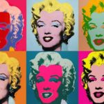 the influence of the arts - Andy Warhol Marilyn Monroe